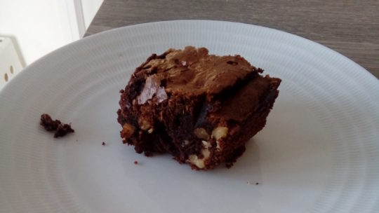 Brownie fondant aux noix d'el' Cagette